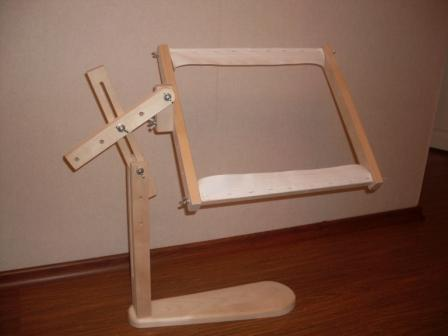 Станок для вышивания своими руками - мастер-класс изготовления